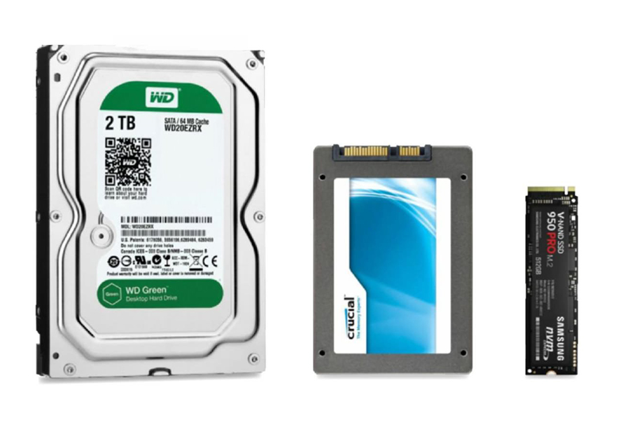 Remplacer SSD , HDD, M2