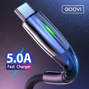 Câble Micro USB type-c 5A pour recharge rapide et transfert de données