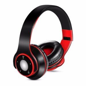 Casque Audio coloré stéréo Mp3 Bluetooth,support carte SD avec micro