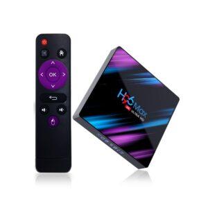 H96 MAX RK3318 boîte de télévision intelligente Android 9 9.0