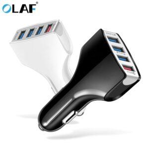 OLAF – chargeur de voiture rapide 3.0, 4 Ports