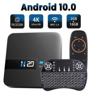 TOPSION – boîtier smart tv android 10, 2 go/16 go
