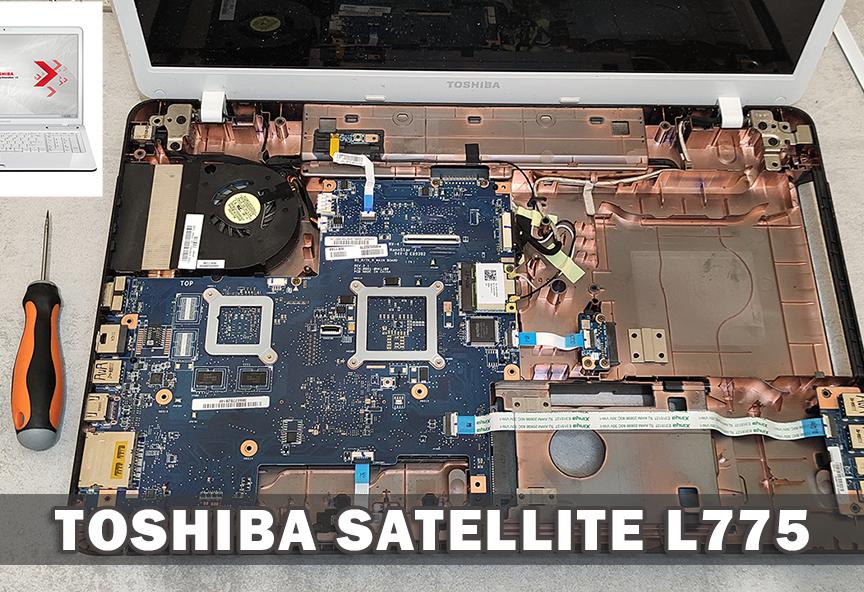 Toshiba Satellite L770 -775