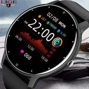LIGE – montre connectée pour Android et ios, bracelet de Sport, moniteur d'activité physique